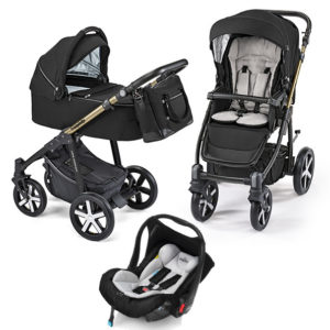 Baby Design Lupo Comfort Limited Black 3in1