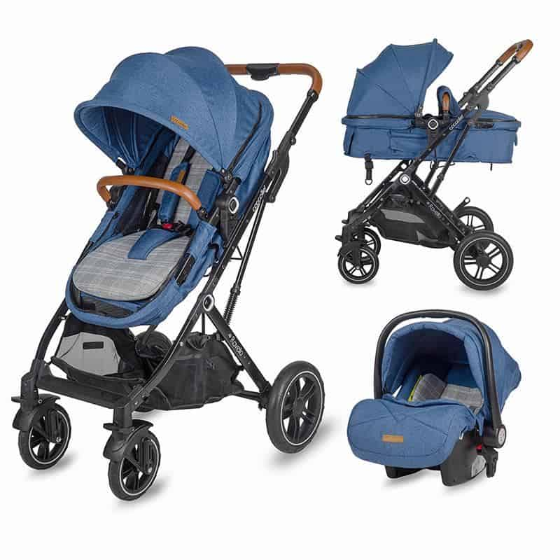 Coccolle Ravello 3 in 1 Navy Blue